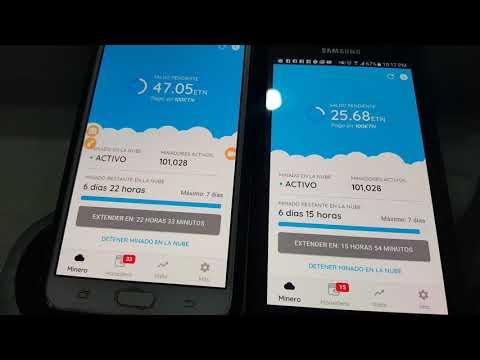 La Mejor App Para Minar Con Tu Celular  ¡¡MUY RÁPIDO!! Ganar Dinero Con Minería Nube