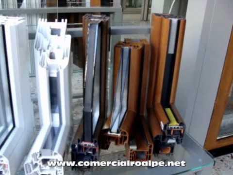 Comercial roalpe ventanas de aluminio pvc cerramientos - Percianas de aluminio ...