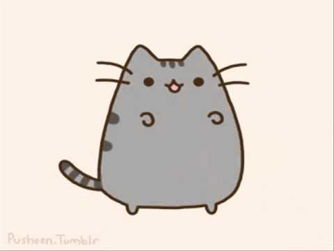 Dancing Pusheen Cat Gif