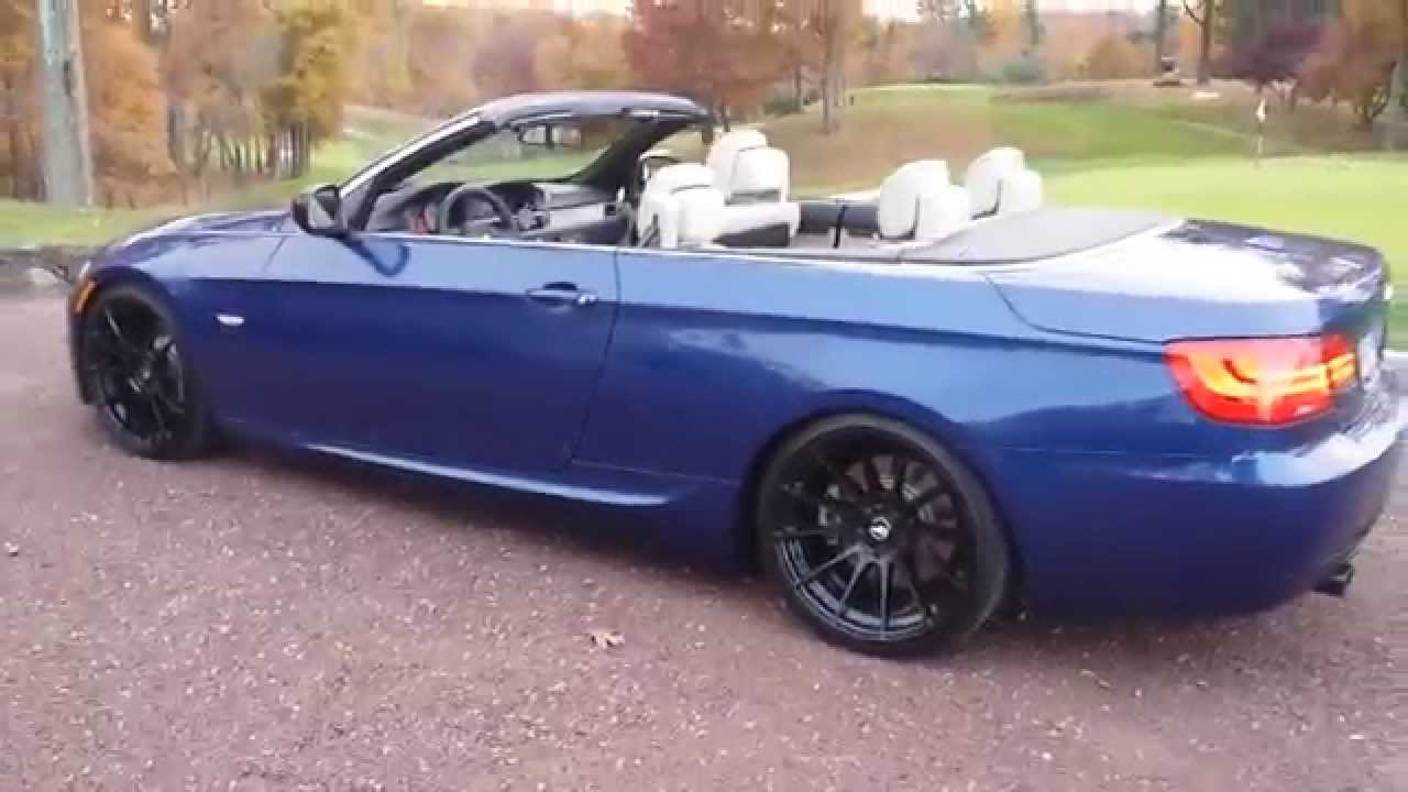 BMW 335I Convertible >> BMW 335is Convertible 19 inch Wheels - YouTube