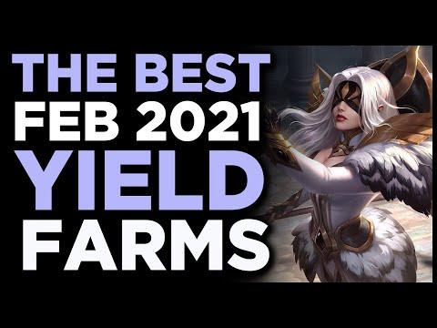 Best Yield Farming Options February (2021)