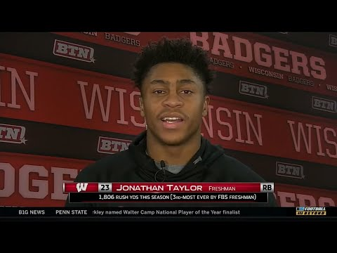 Jonathan Taylor - 2017 B1G Freshman of the Year Interview