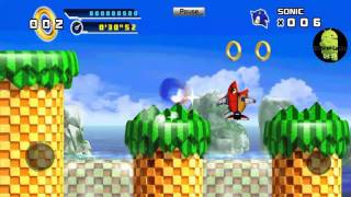Sonic the hedgehog 4 episode1 (ANDROID VERSION) Part 1
