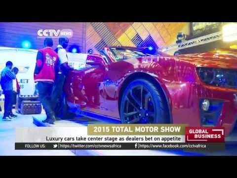 Luxury cars take center stage in Kenya