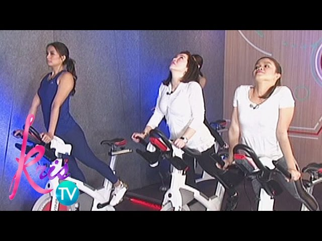 Kris TV: Kris, Isabelle, Melai try stretching techniques