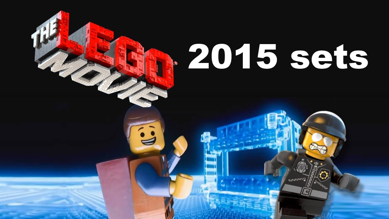 The LEGO Movie 2015 sets list! - YouTube