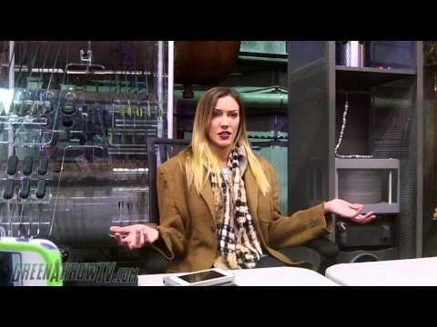 Arrow Season 3 On Set: Katie Cassidy Interview