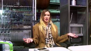 Arrow Season 3 On Set: Katie Cassidy Interview