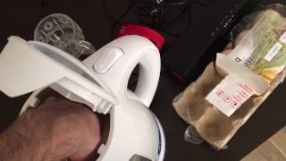 How to make delicious soft boiled eggs in Philips electric kettle  PART 01