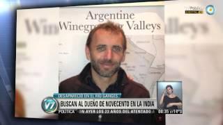 """Visión 7: Buscan al dueño de """"Novecento"""" en la India"""