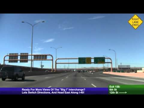 "Freeway Interchange Tour, ""Big I"" Interchange, Albuquerque, NM"