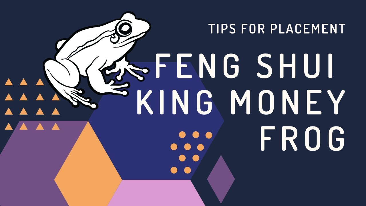 Tips To Place Feng Shui King Money Frog