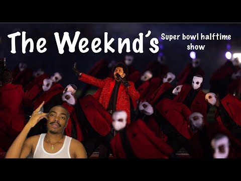 The Weeknd's FULL Pepsi Super Bowl LV Halftime Show | FIRST REACTION | SOUTH AFRICAN YOUTUBER 🇿🇦