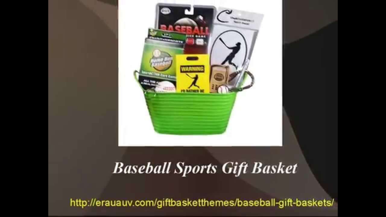 Baseball Gift Basket Ideas - YouTube