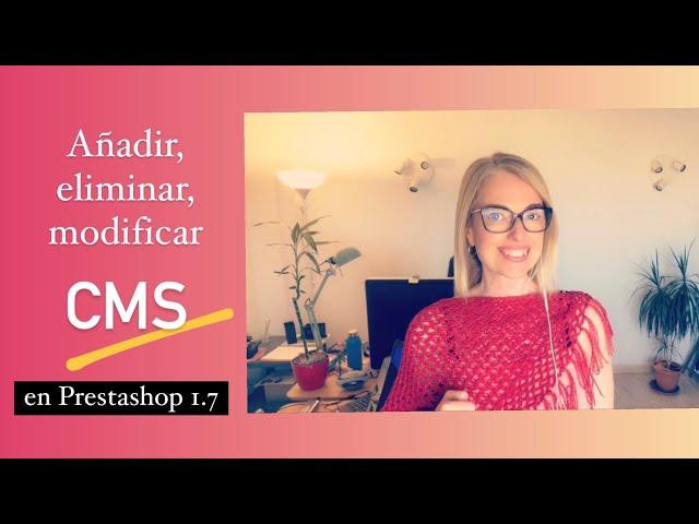 CMS en prestashop 1.7