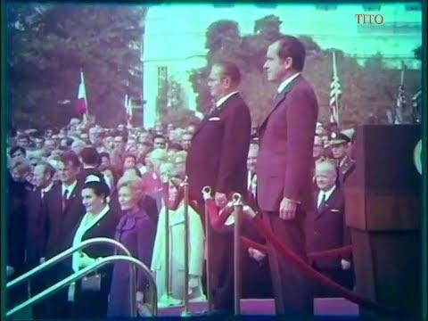 Josip Broz Tito i Richard Nixon, Sjedinjene Američke Države 1971.