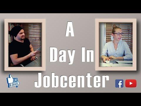 a Day in Jobcenter / يوم في الجوب سنتر
