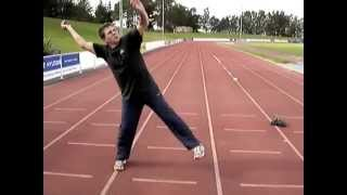 JAVELIN Throw Technique : Exercises on the HOP and BLOCK by D.POPPE.m4v