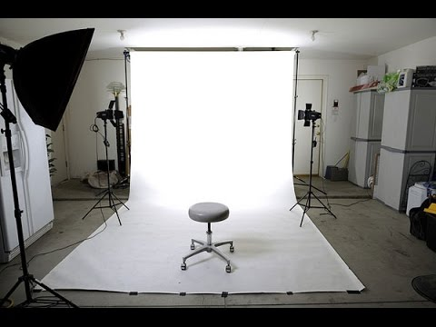 DIY In Home Photo Studio On a Budget   YouTube DIY In Home Photo Studio On a Budget