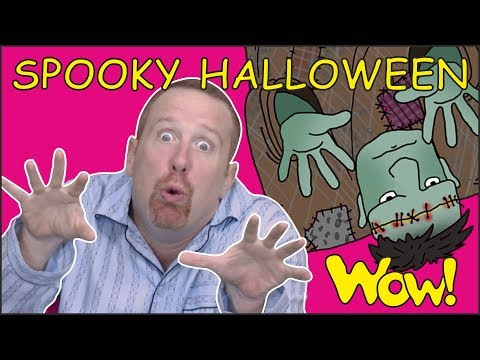 Halloween for Kids  Spooky Story for Children from Steve and Maggie  Free Speaking Wow English TV