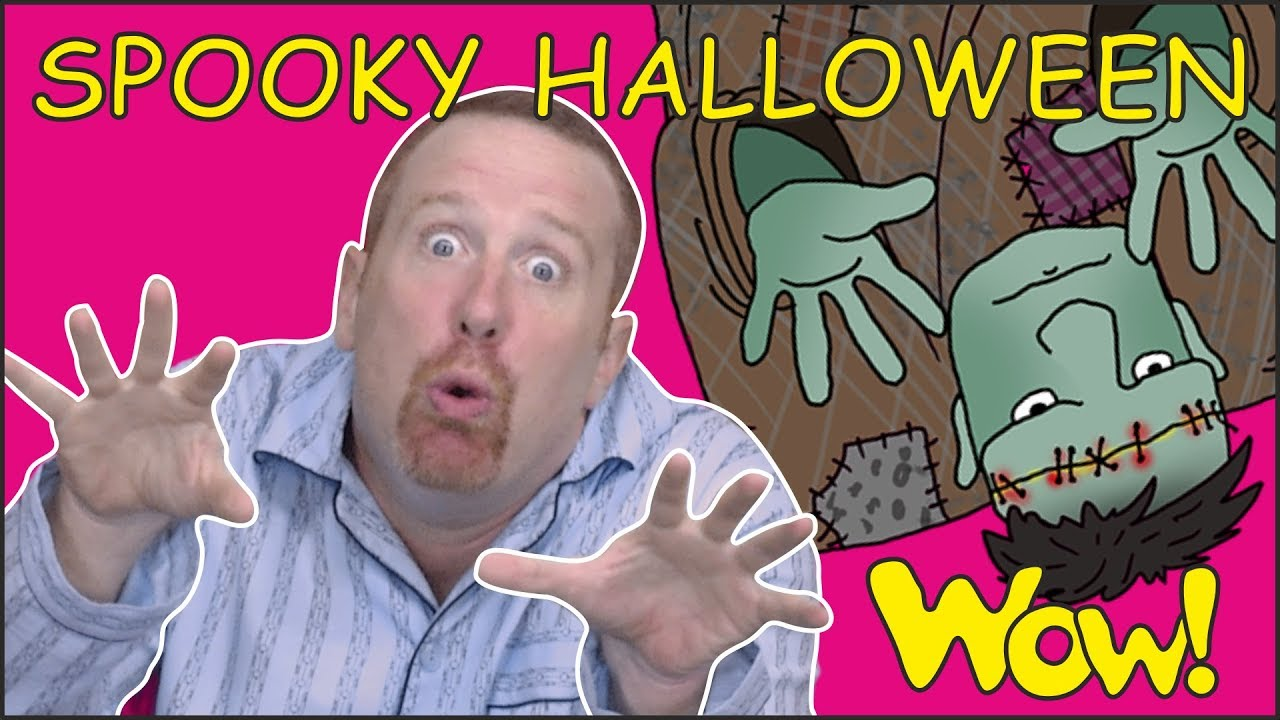 Download Halloween Spooky Story for Kids from Steve and Maggie | Free Speaking Wow English TV for Children