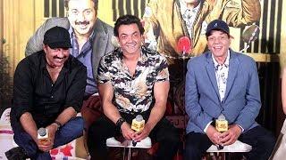 Yamla Pagla Deewana 3 Phir Se Trailer Launch Complete Video HD-Dharmendra,Bobby Deol,Sunny Deol