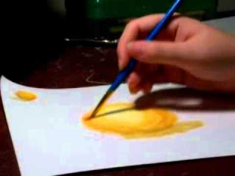 Basic Watercolor Pencil Techniques - YouTube