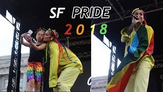 """Kehlani & Hayley Kiyoko Perform """"What I Need"""" For The First Time At SF Pride   tammie wong"""