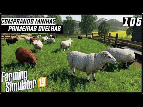 COMPRANDO MINHAS PRIMEIRAS OVELHAS! | FARMING SIMULATOR 19 #105 [PT-BR] thumbnail