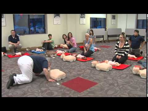 American Red Cross First Aid/CPR/AED Class - YouTube