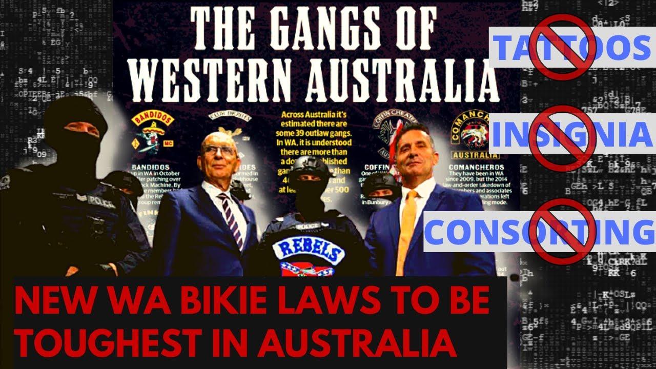New Law in WA set to disturb Bikies   Perth