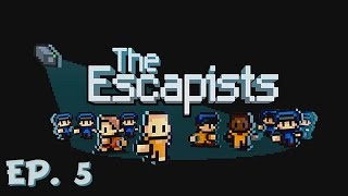 The Cell Key! - Day. 5 - The Escapists - Let's Play