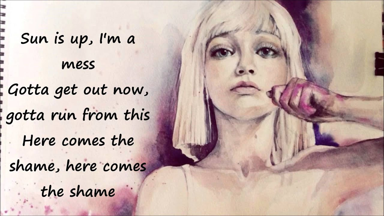 Sia Chandelier con letra - YouTube