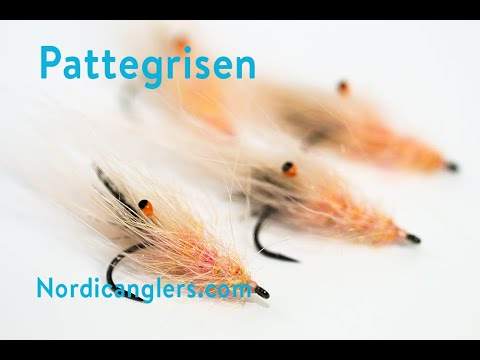 Pattegrisen Fly Tying Lesson, Step By Step Seatrout Fly