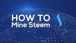 How to mine the Cryptocurrency Steem in Cloud  (Steem mining)