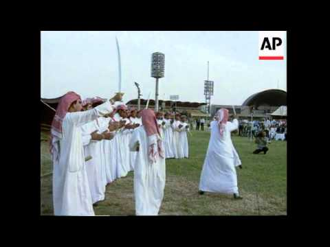 IRAQ: BAGHDAD: PRESIDENT SADDAM HUSSEIN CELEBRATES 60TH BIRTHDAY (1)
