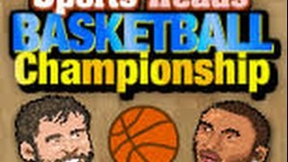 liga de cabezones -sports head basketball (video sin audio)