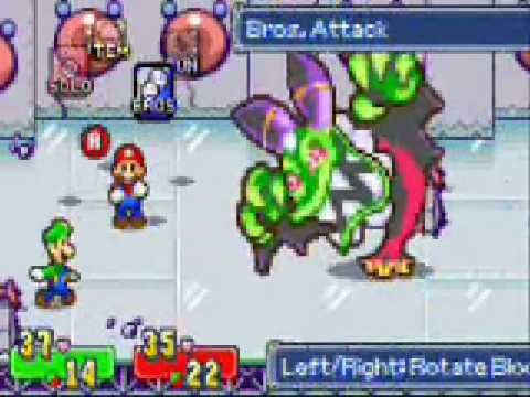 Mario And Luigi Superstar Saga Boss Cackletta Youtube