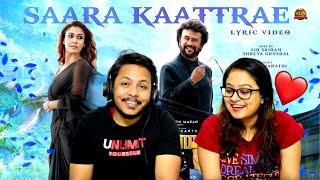 Saara Kaatrae -Lyric Video REACTION  Annaatthe  Rajinikanth   Imman  Sid Sriram  Shreya Ghoshal