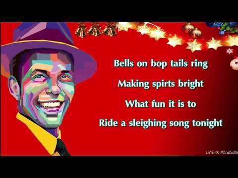 Frank Sinatra - Jingle Bells 🎄(Lyrics)