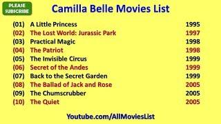 Camilla Belle Movies List