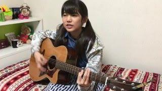 井上苑子さんの赤いマフラーを弾き語りしました。 この曲は井上苑子さん...