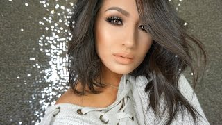 soft bronze smokey eye tutorial   trying new products