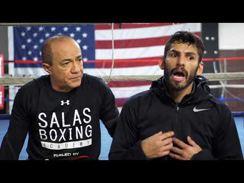 Jorge Linares interview in City Athletic Boxing - Upcoming fight 1-27-2018