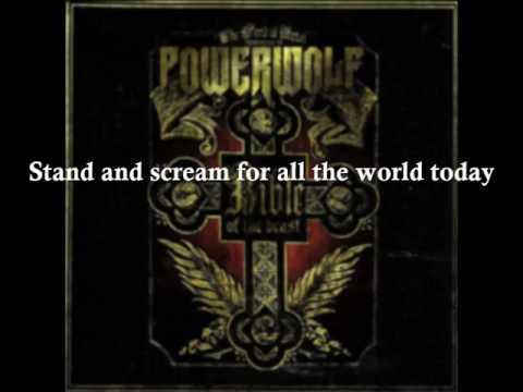 Raise Your Fist , Evangelist - POWERWOLF - Lyrics - HD