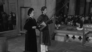 Phóng sự  : Khôi phục hát cửa đình sau hơn nửa thế kỷ vắng bóng