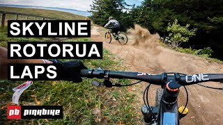 Bike Park Laps w/ Bernard Kerr, Matt Walker & Christina Chappetta at Skyline Rotorua