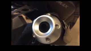 Yamaha Tmax 530 exhaust tip / spout installation