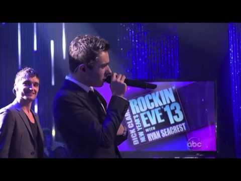 The Wanted - I Found You - Dick Clark's New Year's Rockin' Eve