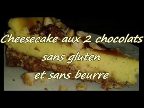 recette-:-cheesecake-aux-2-chocolats-sans-gluten-et-sans-beurre